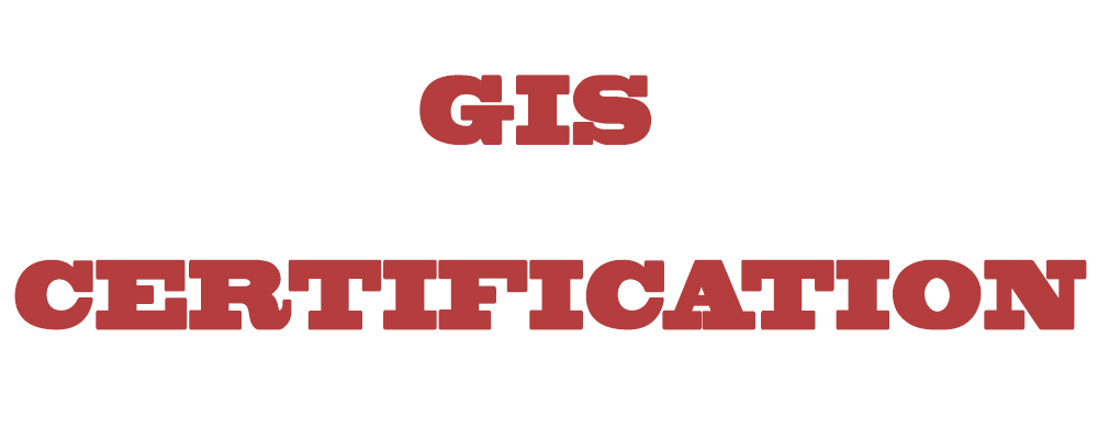 gis certification